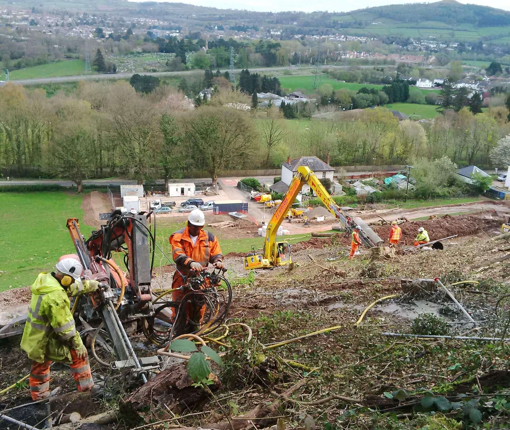 Embankment Stabilisation
