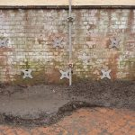 Lincoln Castle – Retaining Wall – Loading Mechanical Anchors