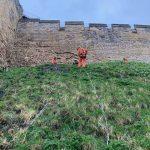 Lincoln Castle West Bank Stabilisation